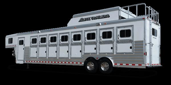 Elite Aluminum Horse Trailers Elite Custom Aluminum Horse And