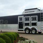 Gooseneck Slant Load Horse Trailer