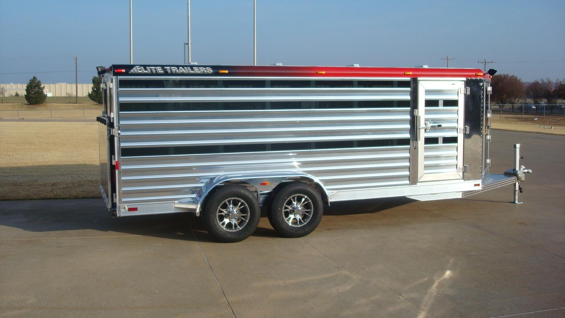 Bumper Pull Low Pro Aluminum Trailer Elite Custom