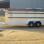 Bumper Pull Low Pro Stock Trailer