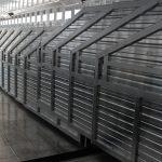 Ground Load Semi Stock Trailer - Interior