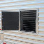 Ground Load Semi Stock Trailer - Added Access Door