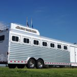 7 Horse Gooseneck Slant Load Trailer