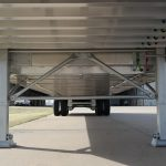 Ground Load Semi Stock Trailer - Standard Dual 2 Speed Holland Landing Gear with Low Pro Sand Shoes