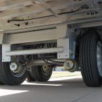 Ground Load Semi Stock Trailer - Standard Hendrickson Intraax 23K, Air Ride with Manual Dump Valve, 2S-1M ABS (Closed Tandem)