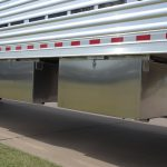 Straight Floor Semi Stock Trailer - Storage Box (Mounts Under the Floor)