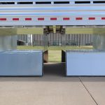 Straight Floor Semi Stock Trailer - Storage Box (Open) (Mounts Under the Floor)