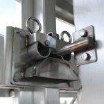 Straight Floor Semi Stock Trailer - Standard Center Gate Double Ring Latch