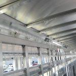 Straight Floor Semi Stock Trailer - Interior (Top Rail)