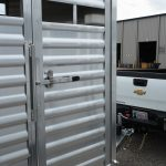 Wrangler Stock Bumper Pull Trailer - (Exterior) Standard Escape Gate