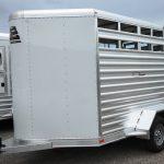 Wrangler Stock Bumper Pull Trailer - Wedge Nose