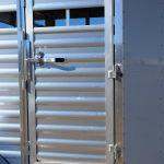 Wrangler Stock Bumper Pull Trailer - Standard Escape Gate