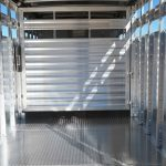 Wrangler Stock Bumper Pull Trailer - (Interior) Standard Center Gate