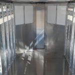 Wrangler Stock Bumper Pull Trailer - (Interior) Rear to Nose Flat Tread Plate Floor