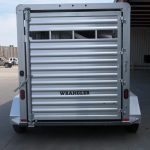 2 Horse Wrangler Stock Combo Plus - Standard Full Width Rear Gate