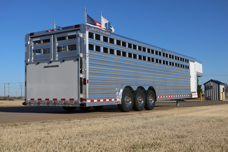 Gooseneck Polo Aluminum Horse Trailer Elite Custom