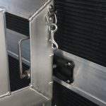 12 Horse Gooseneck Polo Horse Trailer - Divider Locking Mechanism