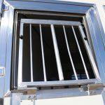 6 Horse Gooseneck Slant Load - Drop Down Feed Doors on Drop Down Doors with Windows