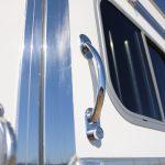 6 Horse Gooseneck Slant Load - (Exterior) Chrome Handles