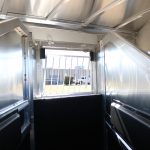 4 Horse Mustang Living Quarters - (Interior) Production Style Drop Down Bars