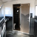 4 Horse Mustang Living Quarters - Bulkhead Wall with Walk Thru Door
