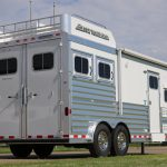 2 Horse Mustang Living Quarters