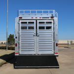 16 Horse Kingpin Polo - Double Rear Gates with Drop Rods