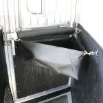 3 Horse Gooseneck Slant Load (Living Quarters and Slide Out) - (Interior) Standard Feed Bag with Mounting Hardware