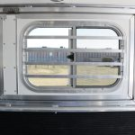 3 Horse Gooseneck Slant Load (Living Quarters and Slide Out) - (Interior) Drop Down Doors with Welded Bars, Replaces Standard Windows with Welded Bars
