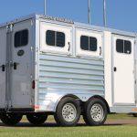 2 Horse Colt SS Bumper Pull Horse Trailer