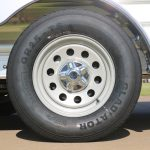 2 Horse Colt SS Bumper Pull Horse Trailer - 205/75R15 Load Range D Radials with 15 inch Modular Wheels and Center Cap