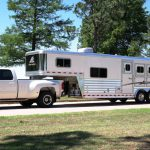 3 Horse Mustang with 10 foot 8 inch Living Quarters