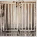 65 inch Livestock Box - Center Partitions with Spring Loaded Latches