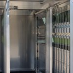 90 inch Livestock Box - Interior Center Partition with Optional Full Length Divider Panel