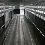 Straight Floor Semi Stock Trailer - Interior