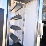 Collapsible Rear Tack Wall with Removable Center Post and Removable Saddle Rack Post