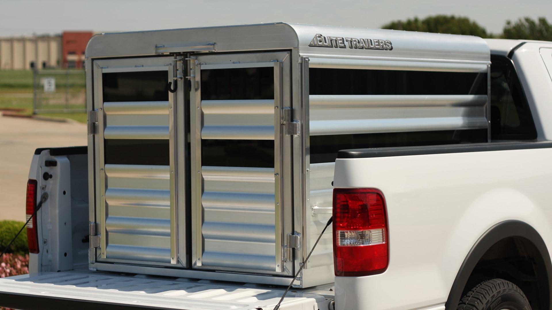 Elite Custom Aluminum Horse Trailers And Livestock Flatbed Trailer Light Diagram