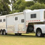 3 Horse Gooseneck Slant Load with Living Quarters