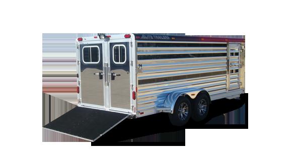 bumper pull low pro aluminum trailer elite custom aluminum horse rh elitetrailers com 4 Wire Trailer Wiring Diagram 4 Wire Trailer Wiring Diagram