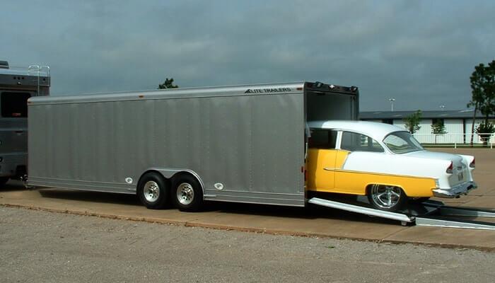 Car Hauler Jobs >> Elite Motorsports Trailers Elite Custom Aluminum Horse And Stock