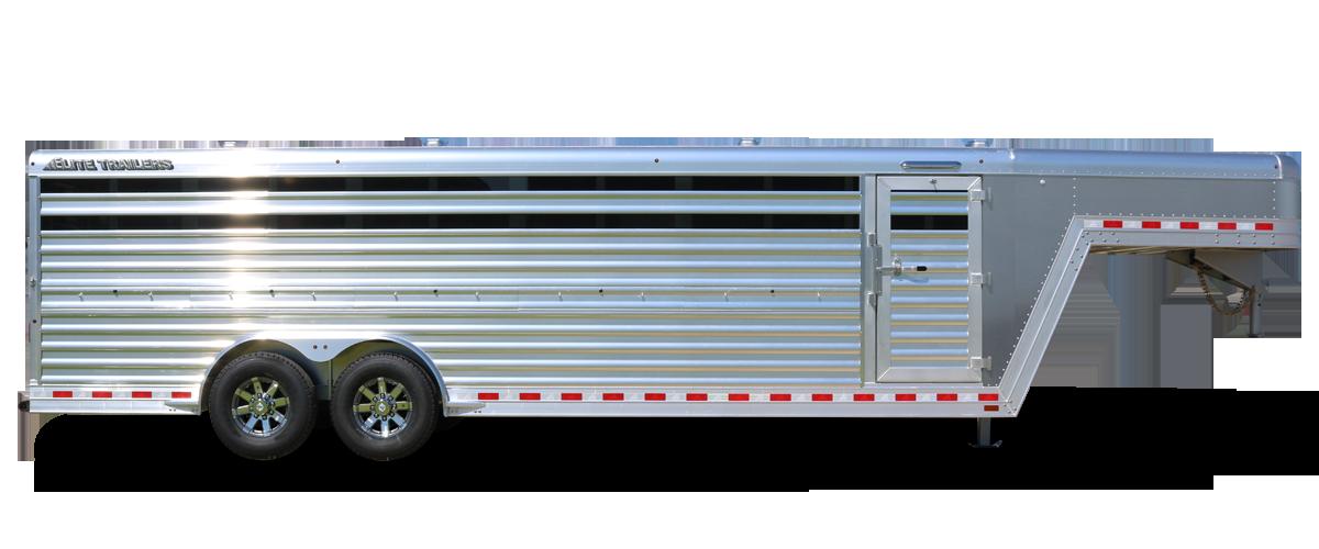 Gooseneck Low Pro Aluminum Trailer - Elite Custom Aluminum